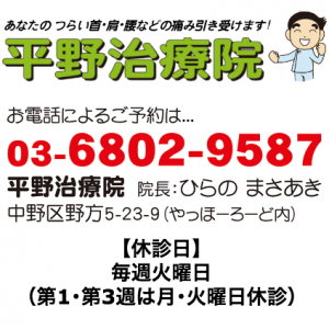 中野区野方5-23-9(やっほーろーど内)